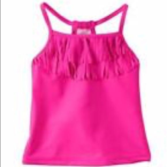 609260ff7 Carter's Swim   Carters Fringe Pink Tankini Sz 2t 28   Poshmark